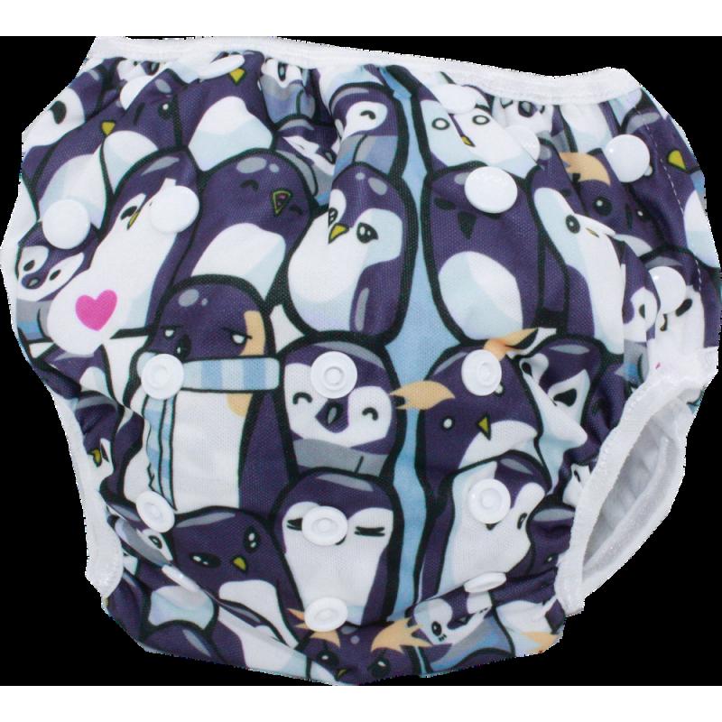 Schwimmwindel Muster - PINGUIN